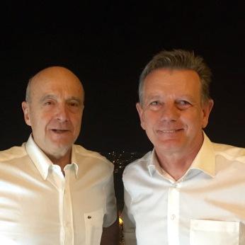 Visite Alain Juppé le 21 décembre 2015
